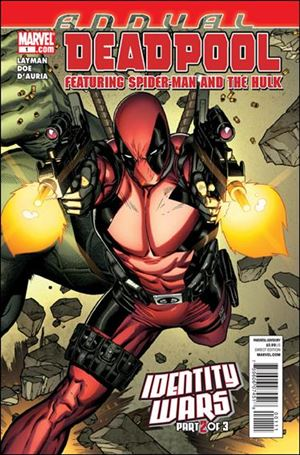 Deadpool Annual (1998) 1-A