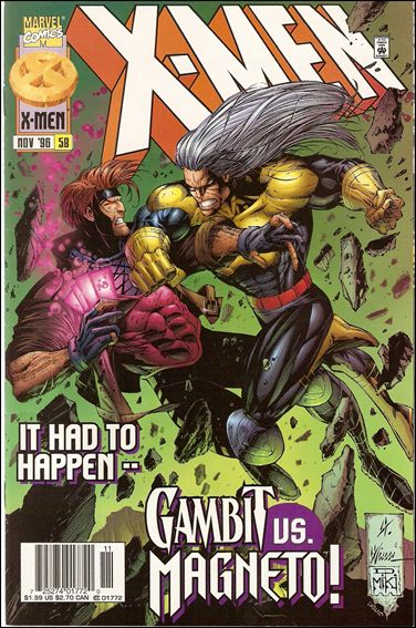 X-Men (1991) 58-B by Marvel