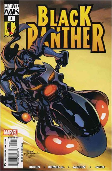 Black Panther (2005) 5-A by Marvel