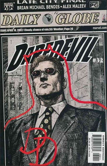 Daredevil (1998) 32-A by Marvel