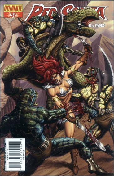 Red Sonja 37-B by Dynamite Entertainment