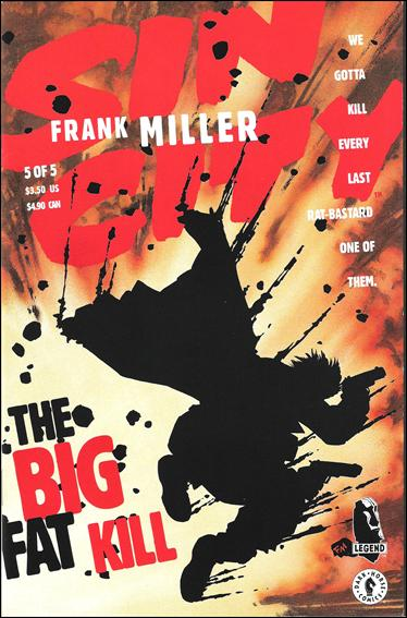 Sin City: The Big Fat Kill 5-A by Dark Horse