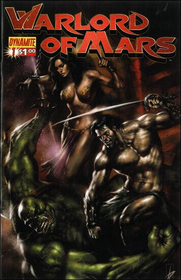 Warlord of Mars 1-D by Dynamite Entertainment