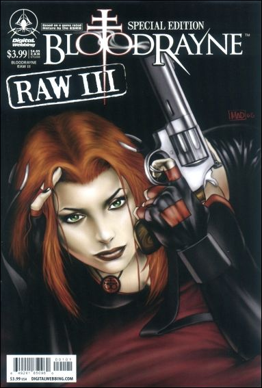 Bloodrayne: Raw III 1-A by Digital Webbing