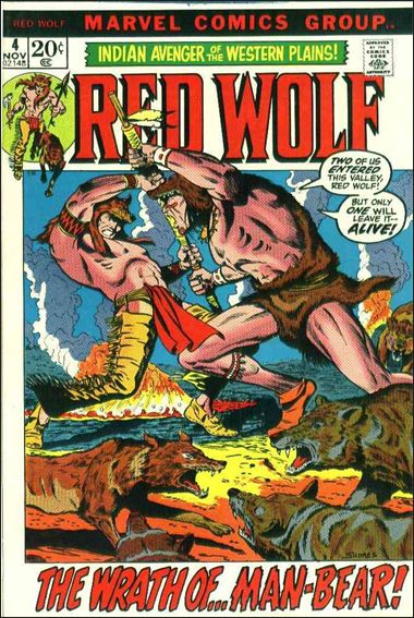 Red Wolf (1972) 4-A by Marvel