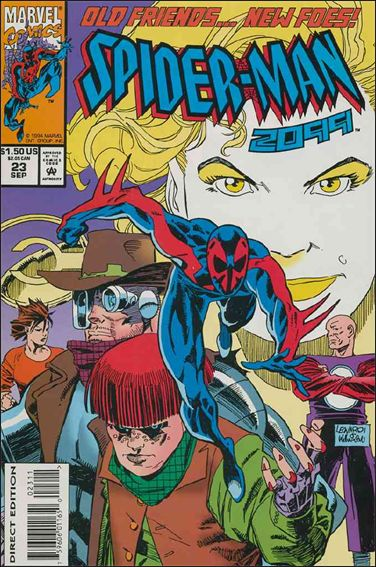 Spider-Man 2099 (1992) 23-A by Marvel