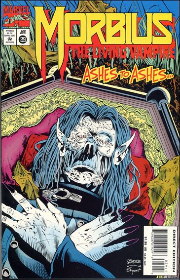 Morbius: The Living Vampire (1992) 29-A by Marvel