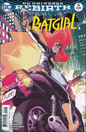 Batgirl (2016) 5-B