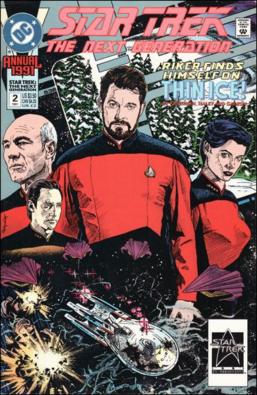 Star Trek: The Next Generation Annual 2-A by DC