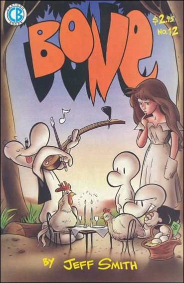 Bone (1991) 12-A by Cartoon Books