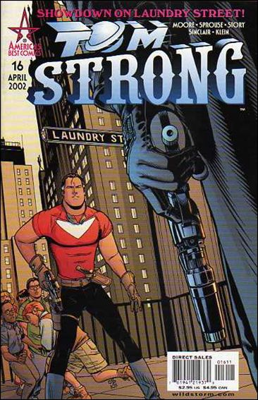 Tom Strong 16-A by America's Best Comics