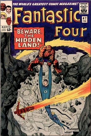 Fantastic Four (1961) 47-A by Marvel