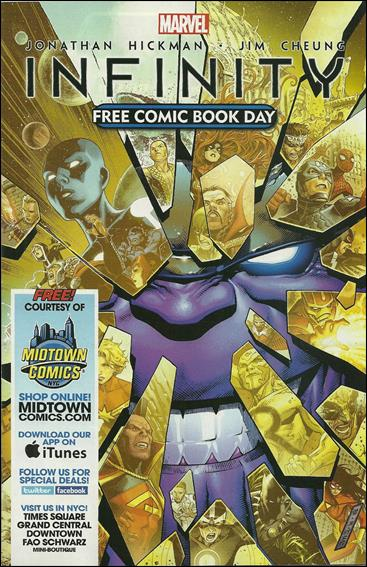 Free Comic Book Day 2013 (Infinity) 1-B by Marvel