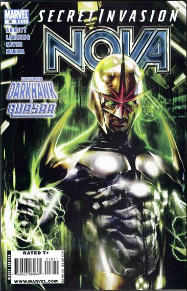 Nova (2007) 18-A by Marvel