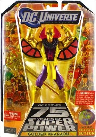DC Universe Classics (Wave 15) Golden Pharaoh (Standard) by Mattel