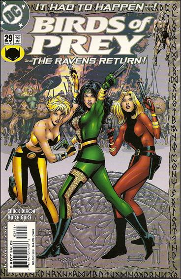 Birds of Prey (1999) 29-A by DC