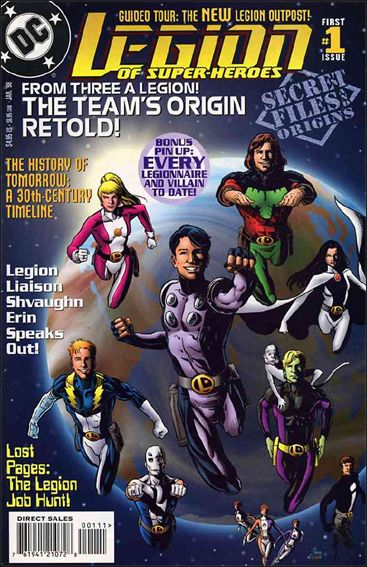 Legion of Super-Heroes: Secret Files and Origins 1-A by DC