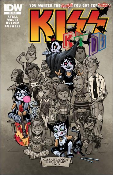 KISS Kids 2-A by IDW