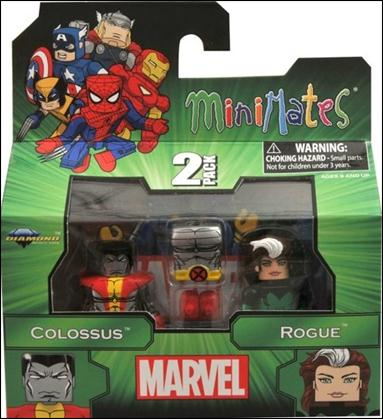 Marvel Minimates Colossus and Rogue by Diamond Select