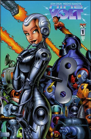Nine Volt 1-B by Top Cow