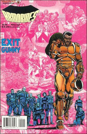 Armorines (1993) 12-A by Valiant