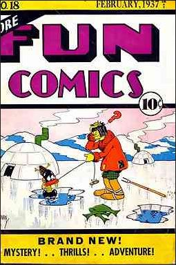 More Fun Comics 18-A by DC