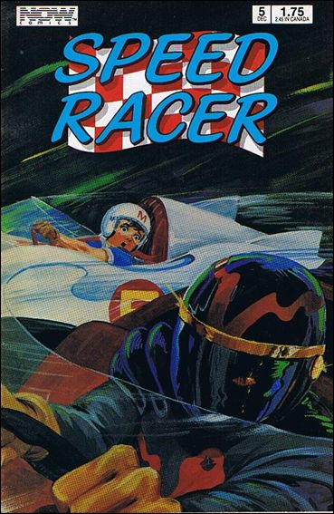 Speed Racer (1987) 5-A by Now Comics