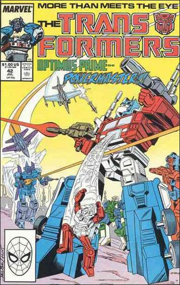 Transformers (1984) 42-A by Marvel