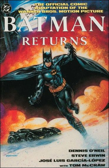 Batman Returns: The Official Comic Adaptation of the Warner Bros. Motion Picture 1-A by DC