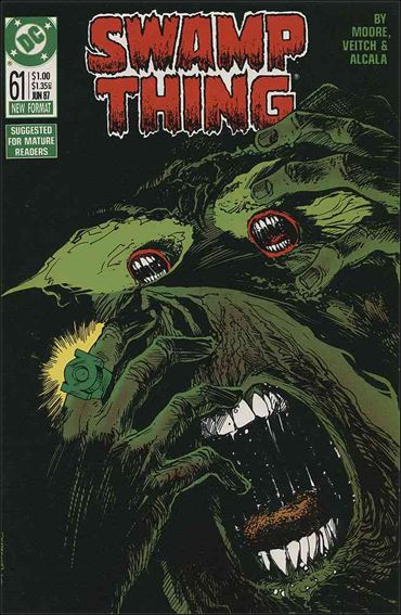 Swamp Thing (1986) 61-A by Vertigo