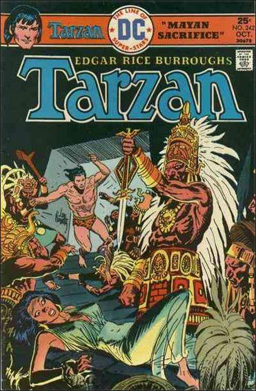 Tarzan (1972) 242-A by DC