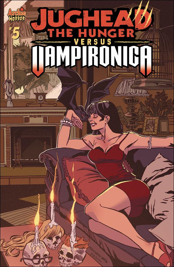 Jughead the Hunger Versus Vampironica 5-A by Archie Horror