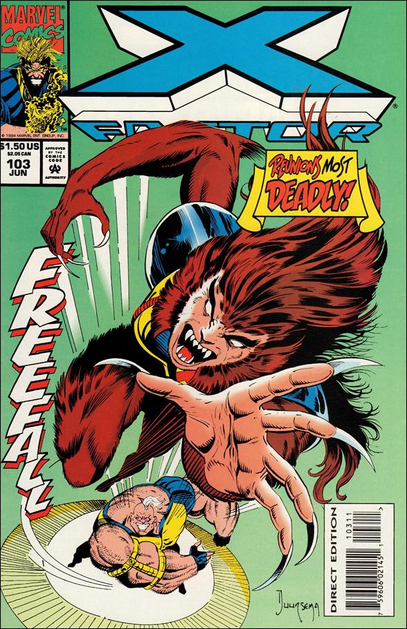 X-Factor (1986) 103-A by Marvel