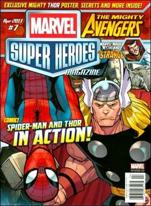 Marvel Super Heroes Magazine 7-A by Marvel