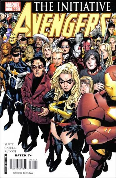 Avengers: The Initiative 1-A by Marvel