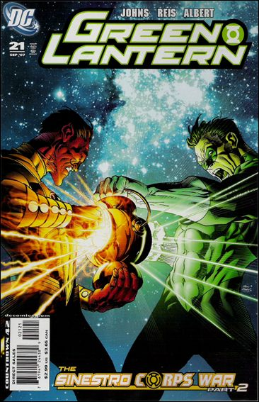 Green Lantern (2005) 21-B by DC