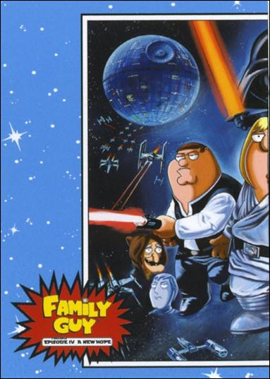 Family Guy Presents Episode IV A New Hope (Promo) P-1-A by Inkworks