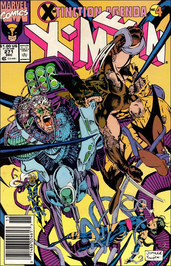 Uncanny X-Men (1981) 271-A by Marvel