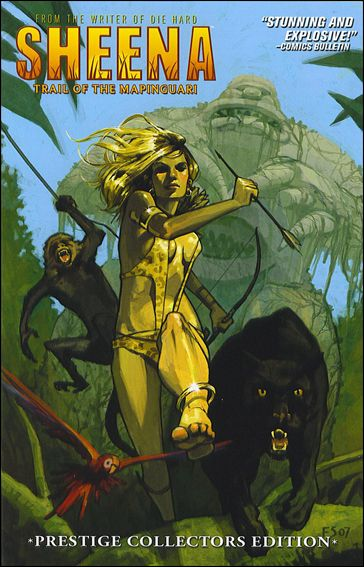 Sheena: Trail of the Mapinguari 1-B by Devil's Due