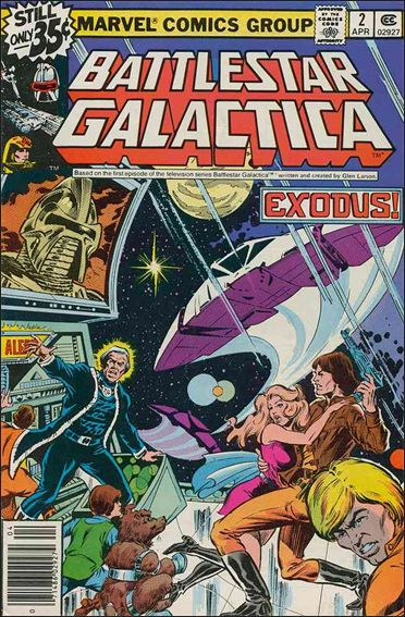 Battlestar Galactica (1979) 2-A by Marvel