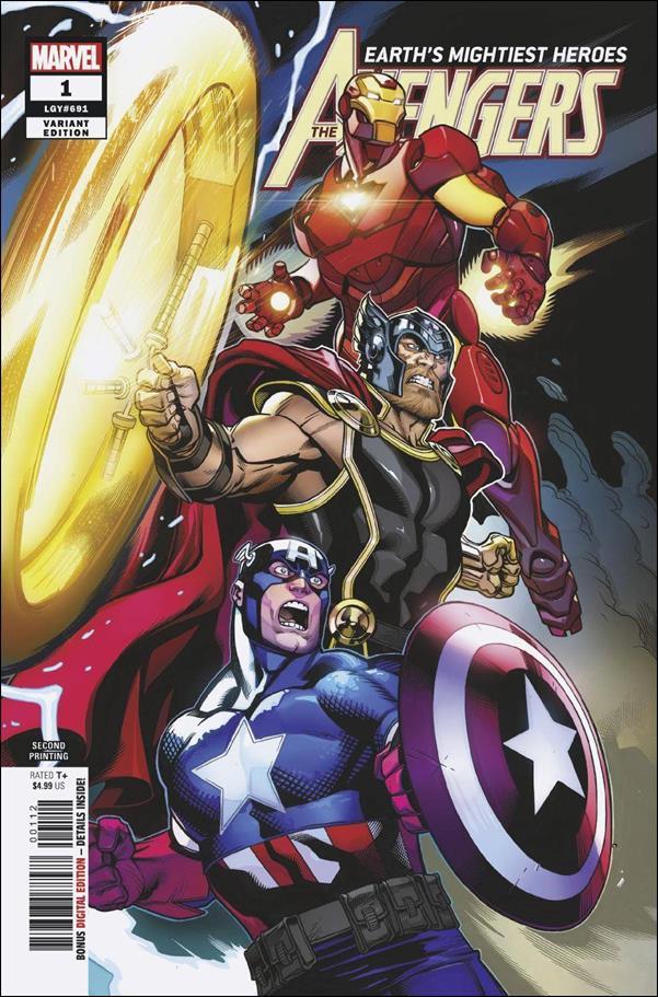 Avengers (2018/07) 1-I by Marvel