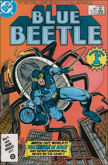 Blue Beetle (1986) 1-A by DC