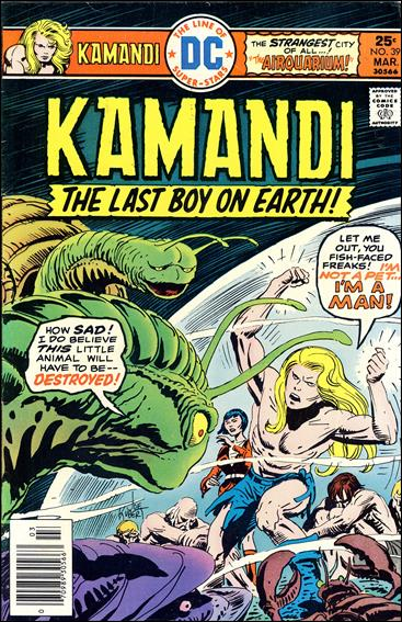 Kamandi, the Last Boy on Earth 39-A by DC