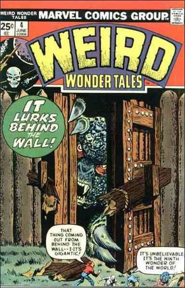 Weird Wonder Tales 4-A by Marvel