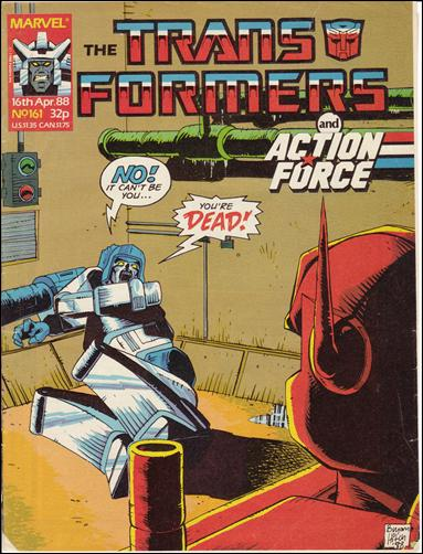 Transformers (UK) 161-A by Marvel UK
