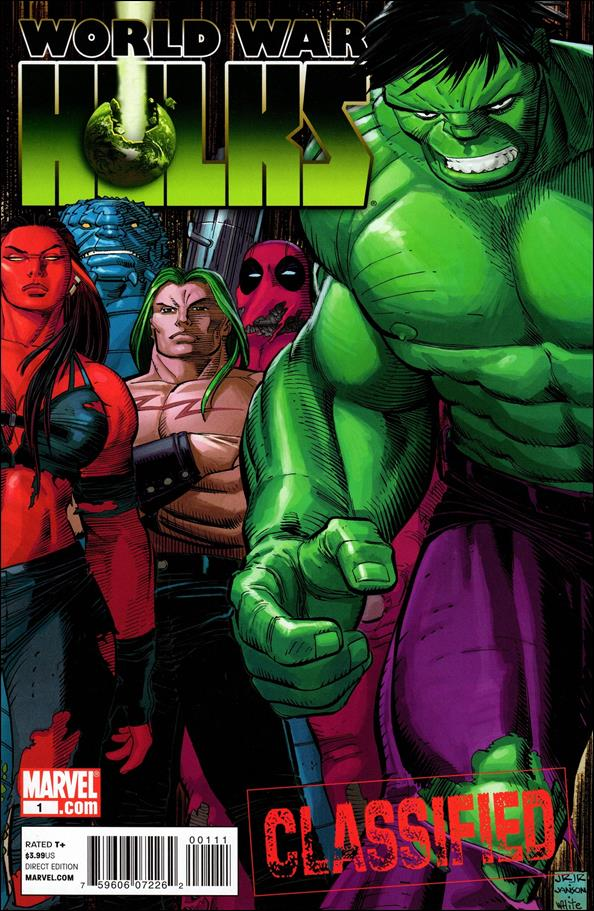 World War Hulks 1-A by Marvel