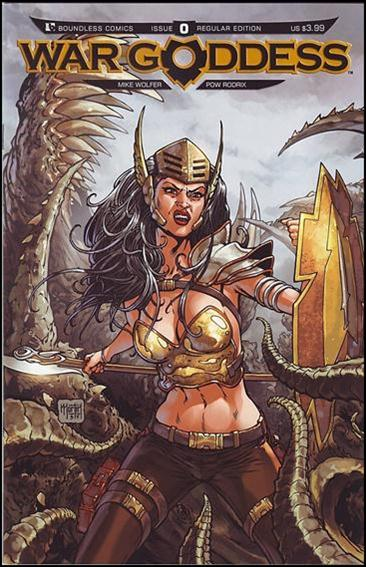War Goddess 0-A by Boundless Comics