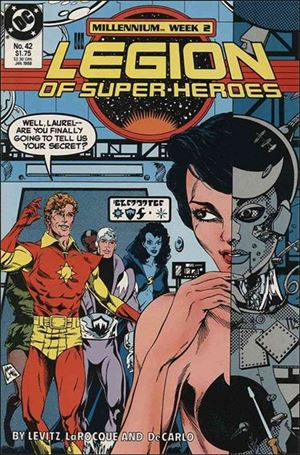 Legion of Super-Heroes (1984) 42-A
