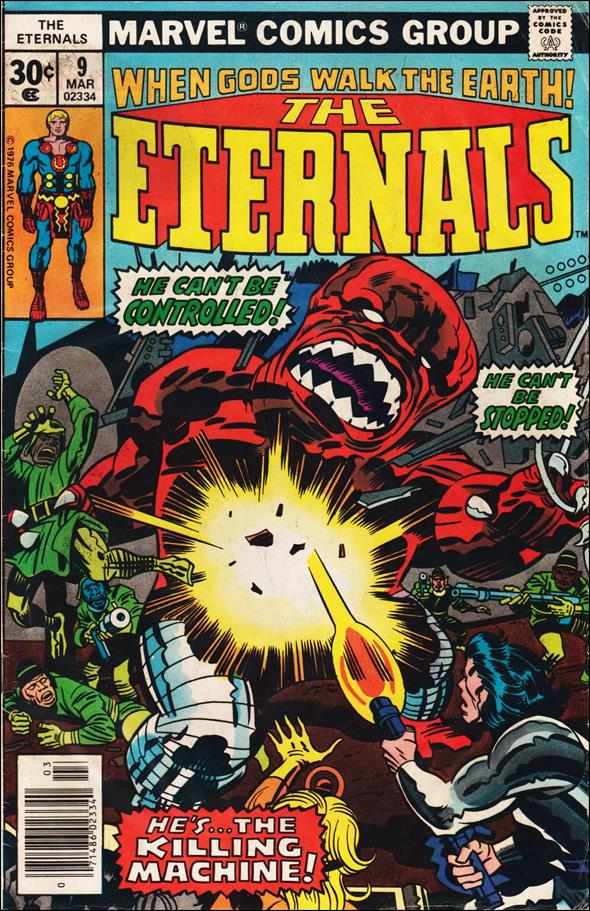 Eternals (1976) 9-A by Marvel