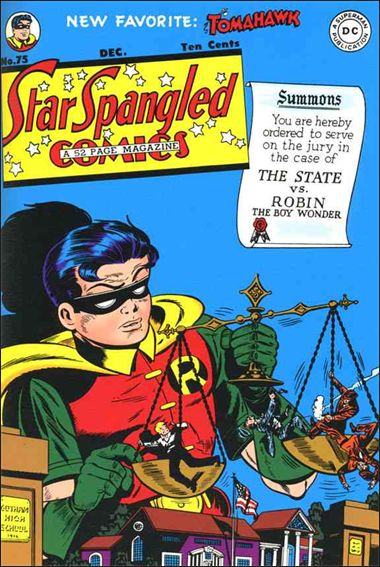 Star Spangled Comics (1941) 75-A by DC